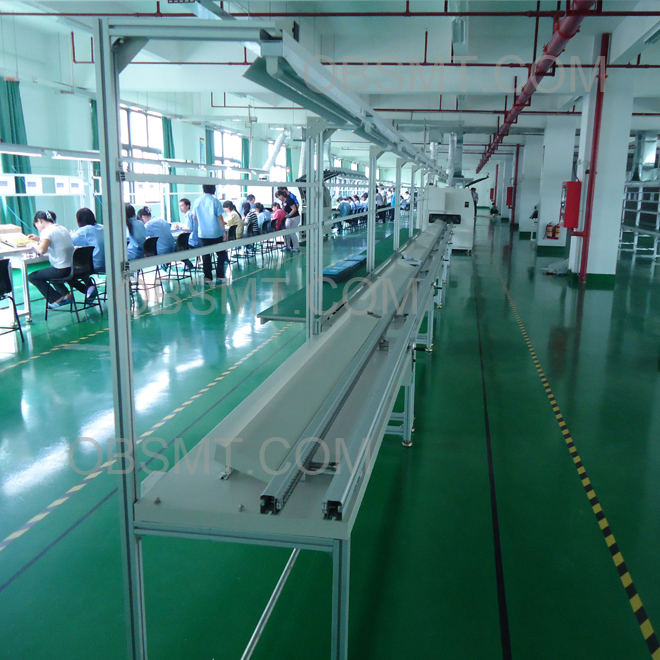 High quality OBSMT automatic PCB Inserting line for sale
